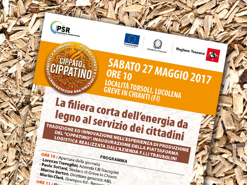 27 maggio 2017. La filiera corta dell'energia da legno al servizio dei cittadini